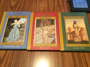 LOT OF 3~THE ROYAL DIARIES~HARD COVER BOOKS~SEE PICTURE