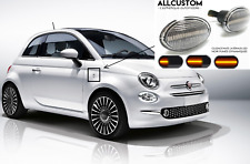 2 DYNAMIC SEITENBLINKER WEISS LED BLINKER für FIAT 595 ABARTH Competizione Monza