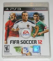 Sony PlayStation 3 Video Game - FIFA Soccer 12 (New)