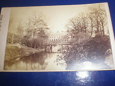 Cdv old photograph Serpentine Walks Buxton c1860s