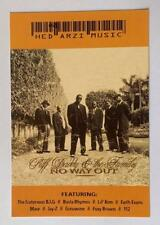 Puff Daddy & The Family - No Way Out - Advertising PC Printed in Israel 1997‎