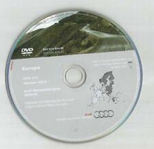 No Reino Unido-Audi A3 A4 A6 TT R8 Navegación RNS-E discos DVD 2 SAT NAV mapa 2012 East