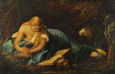 Copy After Pompeo Girolamo Batoni - Die Penitent Magdalena