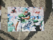 New York Jets PAT LEAHY Signed 4x6 Photo NFL AUTOGRAPH