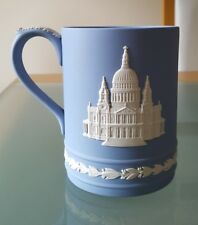 WEDGWOOD JASPERWARE ST PAULS MUG ROYAL WEDDING 1981 CHARLES AND DIANA LTD EDTN