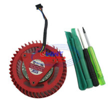 FREE SHIP for ATI Radeon HD 4870 5850 5870 Replacement Cooling Fan +Tool ZJOT828