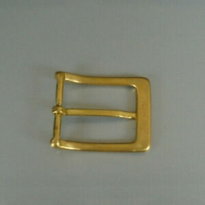 "Mens Solid Brass Belt Buckle 2"""