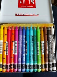 Caran d'ache 15 Watersoluble Crayons