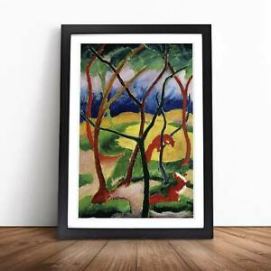 Franz Marc Weasels Playing Framed Picture Print Home Décor Wall Art