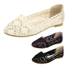 kala Casual shoes Womens Sandals Wedding Loafers Lace Elegant dolly Flats Size