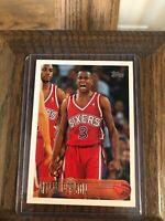 1996-97 Topps #171 Allen Iverson Rookie HOT Card Invest