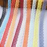 10 Yards Lace Ribbon 15mm Wide Trim DIY Fabric Wedding Decorative Sewing Rope