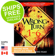 Wrong Turn 1-6, Dead End, Left Dead, Bloody Beginnings, Bloodlines, Last Resort