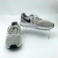 Nike Run Swift Shoes Womens Size 7 Gray Athletic Jogging Lace Up Sports Sneaker