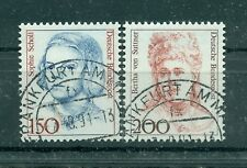 Allemagne -Germany 1991 - Michel n. 1497/98 - Timbres-poste ordinaires