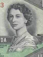 """1954 BANK OF CANADA QEII $1 **DEVILS FACE** """"G/A"""" (( EF ))"""