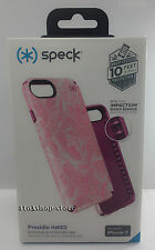 Speck Presidio Inked Hard Case for iPhone 7 (Fresh Floral Rose/Magenta Pink) NEW