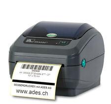ZEBRA Zebra GK420D Thermodrucker Etikettendrucker Thermodirekt Label NETZWERK