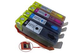 4 REFILLABLE EMPTY INK CARTRIDGES FOR HP 920XL 6000 6500 6500A 7000 7500A E609