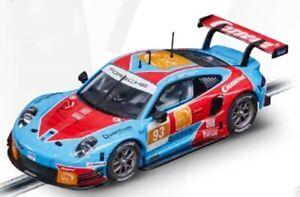 "Carrera EVO 1:32 Porsche 911 RSR ""No.93"" suit scalextric"