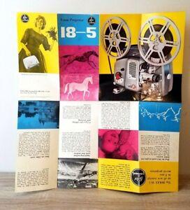 ORIGINAL BOLEX  18-5 8mm projector brochure catalog