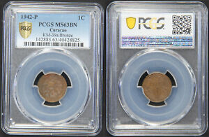 Curacao: Cent bronze 1942 P - PCGS MS63BN