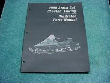 Arctic Cat 1990 Parts Manual Cheetah Touring Snowmobile Book OEM #213