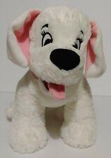 "Disney Store 101 Dalmatians Penny Puppy Dog 12"" Plush Stuffed Animal Pink Collar"