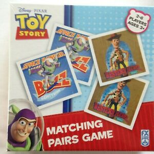 Brand New Schmid Matching Pairs Game - DISNEY PIXAR TOY STORY