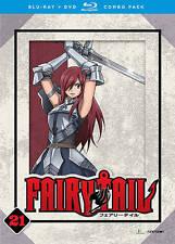 Fairy Tail: Part 21 (Blu-ray/DVD, 2016, 4-Disc Set)
