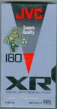 VHS Kassette JVC XR Excellent Resolution 180 von 1987 UEFA Neu! OVP!