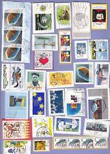 Deutschland .. EURO .. Nass Klebend .. Kiloware auf Papier .. !!! 12 Bilder !!!