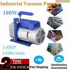2.5CFM 1/4HP Single Stage Vacuum Pump Air Conditioning Refrigeration Vacuum 5Pa