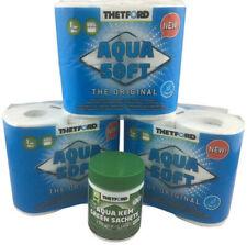 Spar Set C20 Thetford Aqua Kem Green Sachets Santärzusatz Toilettenpapier