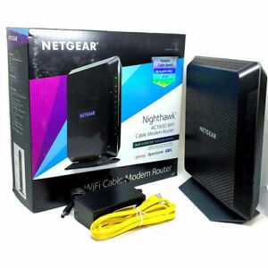 Netgear Nighthawk C7000 AC1900 Dual-Band Built-in DOCSIS 3.0 Cable Modem Router