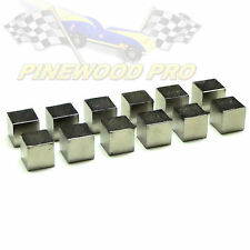 "Tungsten Cubes 1/4"" for Pinewood Derby Car Weight"