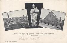 A9227) BOLOGNA, 4/10/1903, RICORDO DELLA FESTA DI SAN PETRONIO. VIAGGIATA.