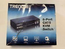 New TRENDnet 8-Port CAT5 KVM Switch (TK-CAT508)