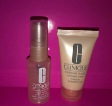 Clinique Moisture Surge Face Spray & Overnight Mask Travel Size - 1 oz Each Nwob