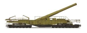Oxford Rail OR76BOOM02 Rail Gun - Railgun Gladiator WWII Railgun OO Gauge