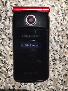Sony Ericsson TM506 - Red (T-Mobile) Cellular Phone