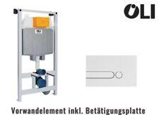 OLI Vorwandelement / Spülkasten - WC / Toilette 6/3 L mit Betätigungsplatte