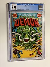 Demon 3 cgc 9.8 ow/w pages Dc comics 1972 Jack Kirby