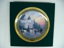 Thomas Kincade 2000 Victorian Christmas Collector Plate