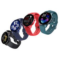 IP68 Waterproof Bluetooth Smart Watch Blood Pressure Heart Rate Monitor Bracelet