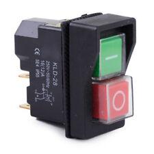 250V IP55 KJD17 KLD28 Schalter 4-polig Auf-Aus Wippenschalter Werkstattmaschinen
