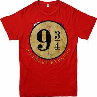 Harry Potter T-Shirt, Platform 9 3/4 Hogwarts Express T-Shirt, Inspired