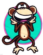 "3"" BOBBY JACK MONKEY TEXT ME STANDING  WALL SAFE FABRIC DECAL CHARACTER CUT OUT"