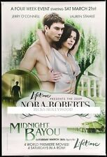 "HUGE Original MIDNIGHT BAYOU Bus Shelter Poster 47""X70"" NORA ROBERTS"