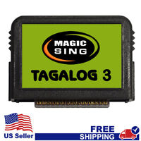 "MAGIC SING Chip ""Tagalog 3""  - Tagalog & English Song Chip w/ SONG LIST"